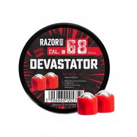 Метални топчета cal. 68 RazorGun Devastator Steel Core 40бр.