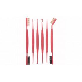 Комплект почистващи четки за оръжие Accu-Grip Picks Brushes Real Avid