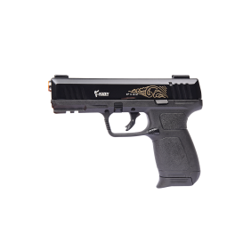 Газов пистолет 9mm Pak Kuzey Arms P-122 Black/Engraved