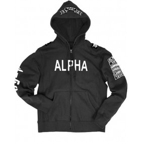 Суичър Alpha Industries Black M