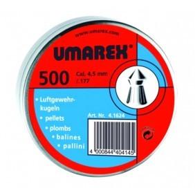Сачми Umarex тип чашка - заоблен връх 4,5 mm (.177)