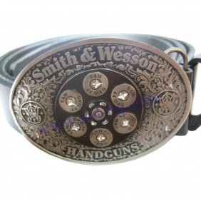 Колан Smith&Wesson с бял барабан