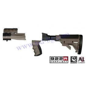 Приклад, ложа, полуложа и ръкохватка за АК-47 ATI 2.20.1092