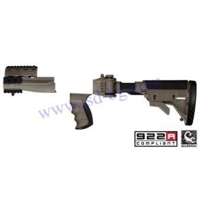 Приклад, ложа, полуложа и ръкохватка за АК-47 2.20.1250