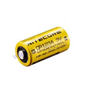 Литиева батерия Nitecore CR123A 3V
