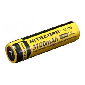 Литиево-йонна тип 18650 акумулаторна батерия 3.7V 3100mAh NL188 NITECORE