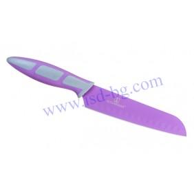 Универсален кухненски Santoku нож Purple Kitchen Dao