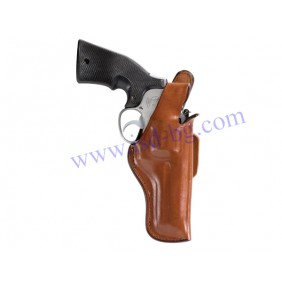 "Кобур за револвер Bianchi Thumbsnap Tan Colt Python 6"" RH"