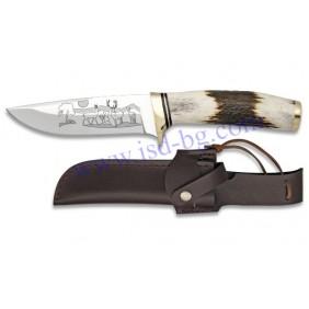 Ловен нож 31912 с гравирано острие Steel 440