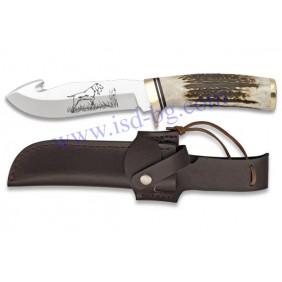 Ловен нож 31915 с гравирано острие Steel 440