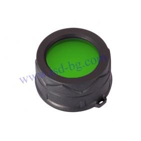 Филтър Nitecore за фенер зелен NFG60