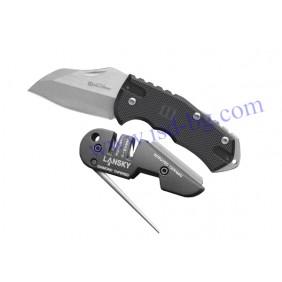 Нож и точило комплект World Legal Combo Lasnky