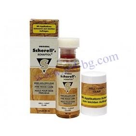 Масло за обработка на дърво SCHAFTOL BRIGHT 50 ml