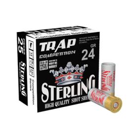 ПАТРОНИ STERLING 12/70 24GR 7.5 TRAP SOFT