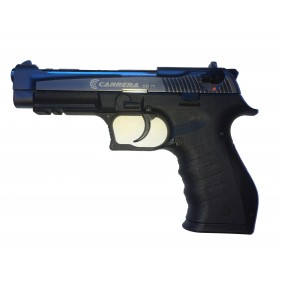Газов пистолет Carrera STI77, 9mm Blk Fume