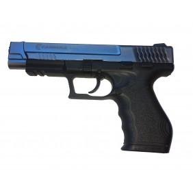 Газов пистолет Carrera STI79, 9mm Blk Satina