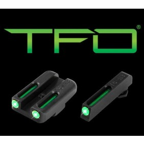 Нощни/дневни мерни прибори TRUGLO TFO Glock Low Set TG131GT1