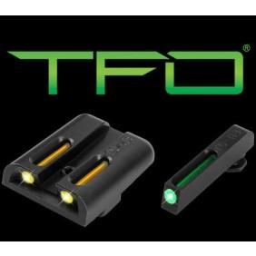 Нощни/дневни мерни прибори TRUGLO TFO Glock 42/43 SET-YLW RS