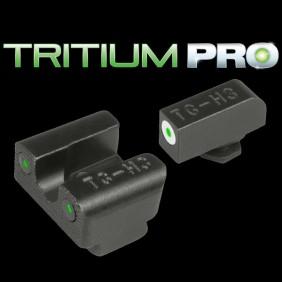 Нощни мерни прибори TRUGLO TRIT PRO GLOCK 42/43 SET WHITE