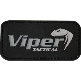 Гумена 3D нашивка Viper Logo Rubber Patches Black