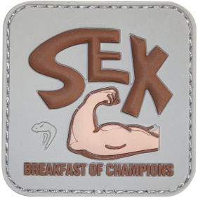 Гумена 3D нашивка Viper Breakfast of Champs Morale Patch