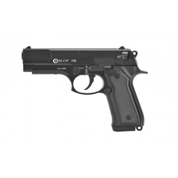 BLANK FIRING GUN BLOW 9mm F06 Mat Black