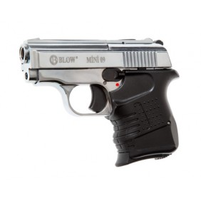 Blank Firing Gun BLOW 9mm Mini Chrome