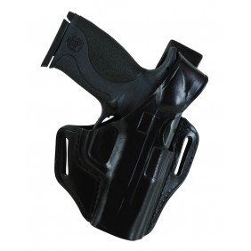"Bianchi Serpent Belt HOLSTER Black S&W MP .9mm .40 4"" RH"