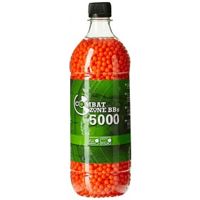 Airsoft balls Combat Zone 6mm 0.12g 5000бр