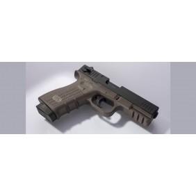 Blank pistol ISSC M22 Green 9mm Ceonic