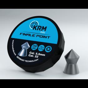 Airgun pellets KRM 5.5 mm FPP 250, plastic box