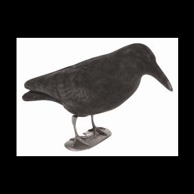 Flocked Crow Full Body Decoy Jack Pyke