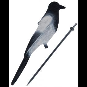 Flocked Magpie Decoy JACK PYKE
