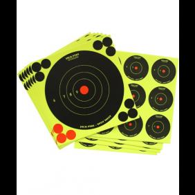Самозалепващи мишени Jack Pyke Mixed Spot Shot Targets