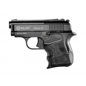 Blank Firing Gun BLOW 9mm Mini Mat Black