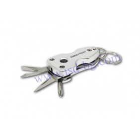 Key Ring Multi-Tool 7-in-1 Swiss+Tech
