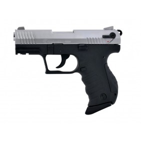 Blank Firing Gun Carrera RS34, 9mm Chrome