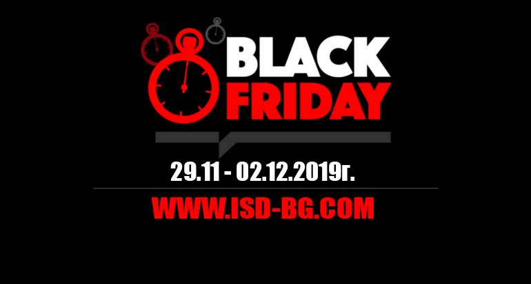 Black Friday оръжеен магазин АйЕсДи БГ