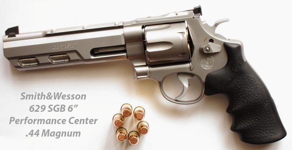 Револвер Smith&Wesson 629 SGB Performance Center 44 Magnum